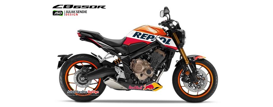 Honda CB650R Repsol Edition