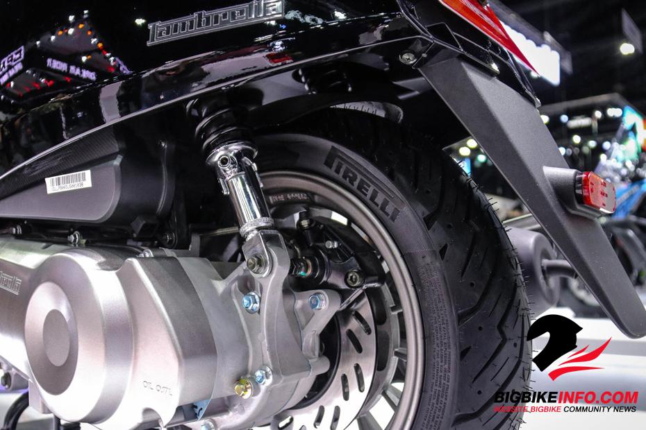 ระบบกันสะเทือนหลัง Lambretta V200