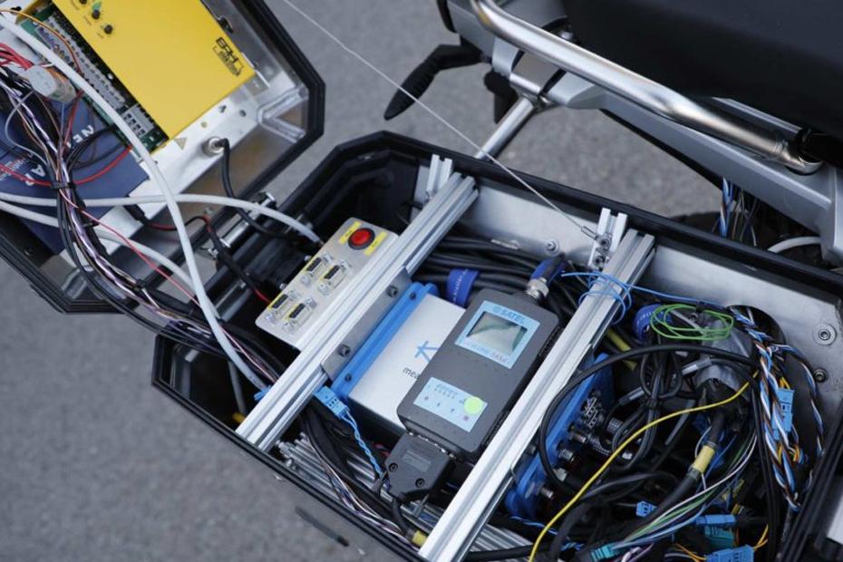 อุปกรณ์ต่างๆ บน BMW R1200GS