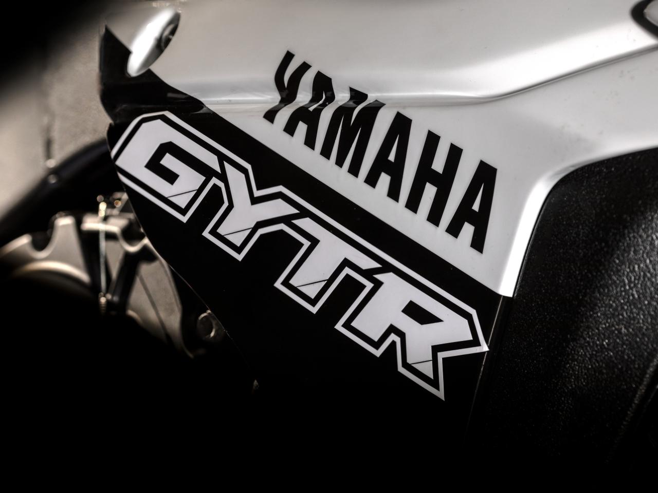 โลโก้ของ Yamaha YZF R1 GYTR 2019