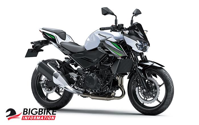 Kawasaki Z250 ขาว-เขียว