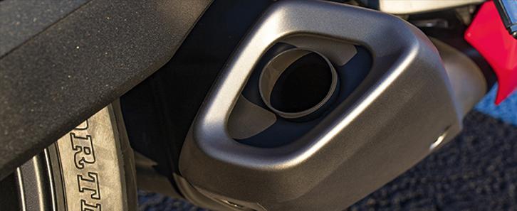 ท่อออกด้านใต้รถ Honda CBR650R