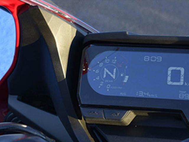 หน้าปัดเรือนไมล์ Honda CBR650R
