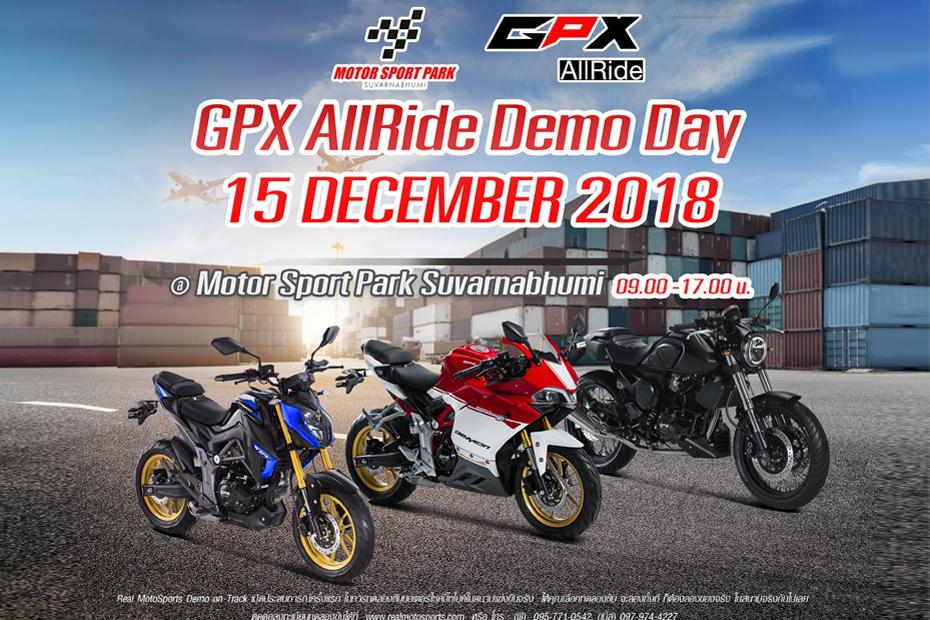 GPX AllRide Demo Day