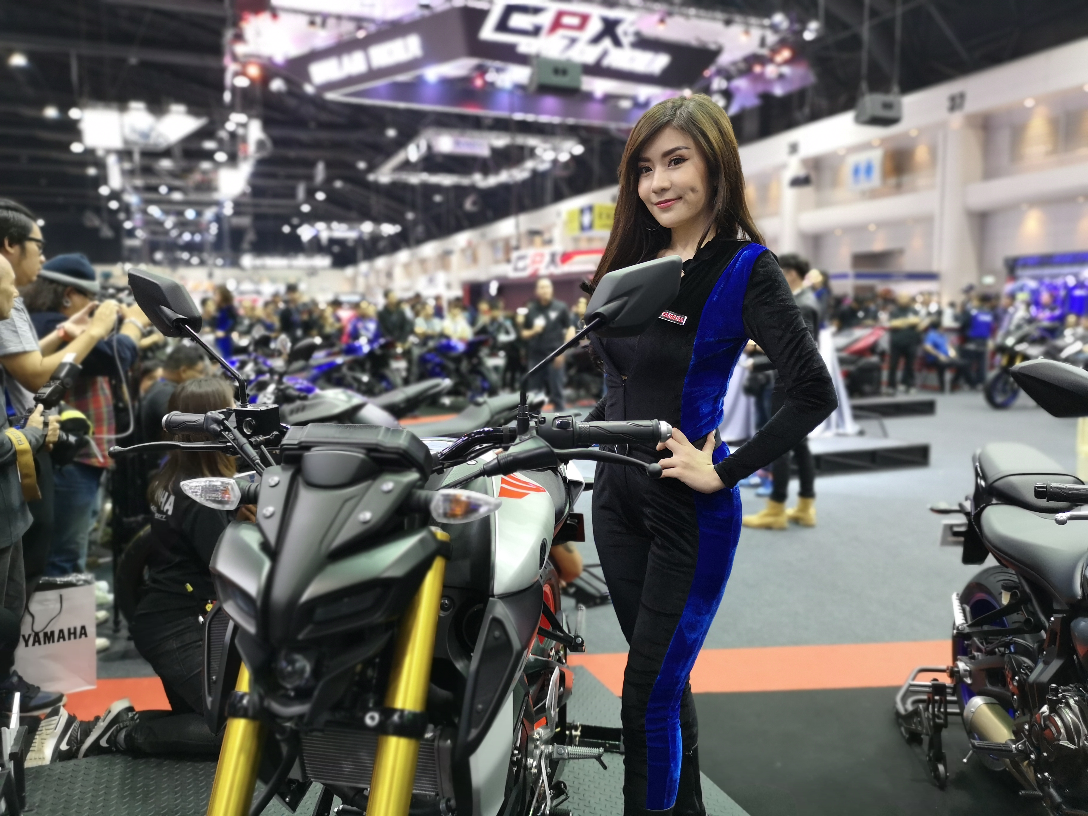 สำหรับบูธของ Yamaha