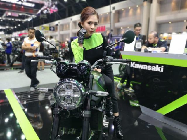 สำหรับบูธของ Kawasaki