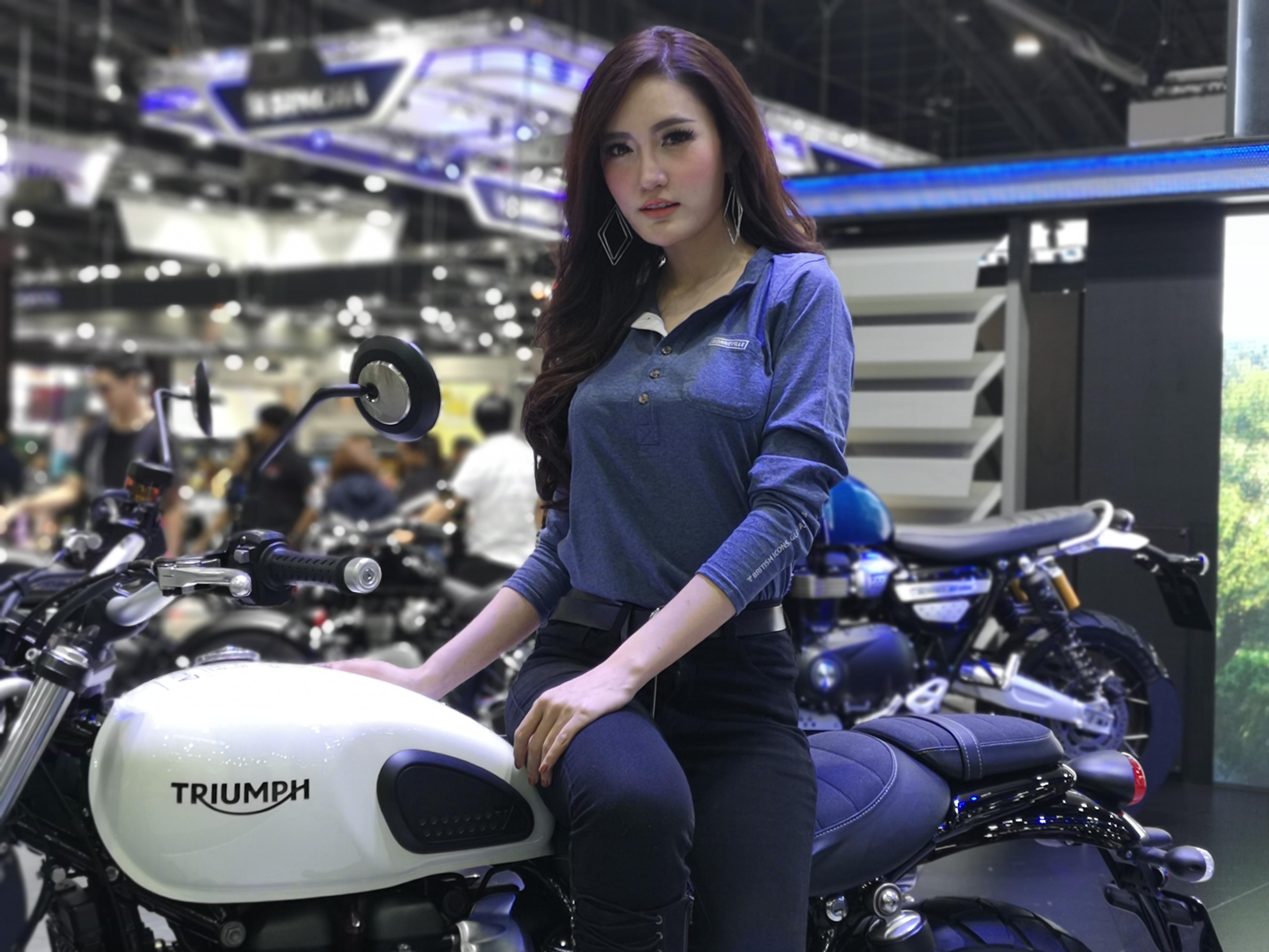สำหรับบูธของ Triumph