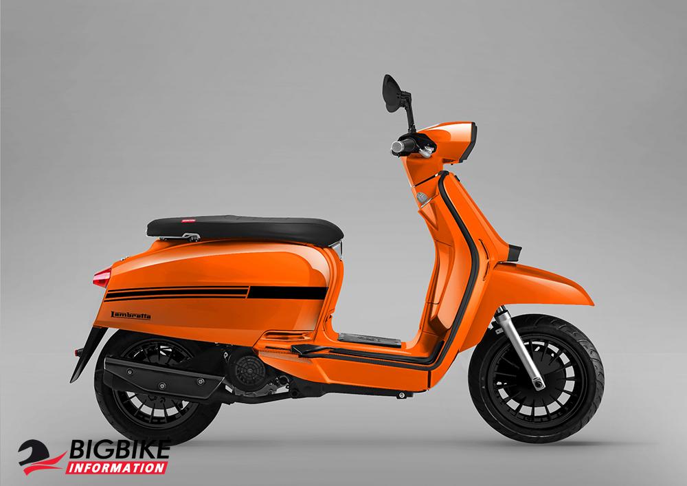 V125 Orange Color