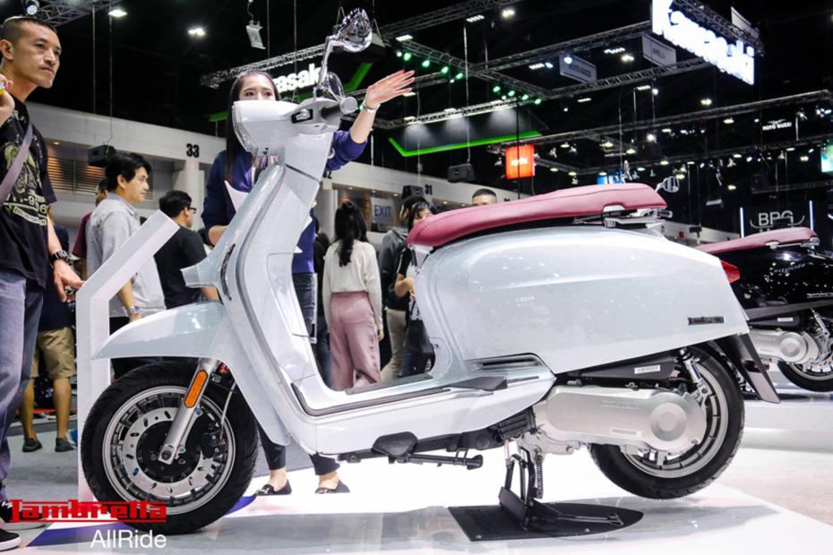 แลมเบรตต้า V200 Special สีขาว