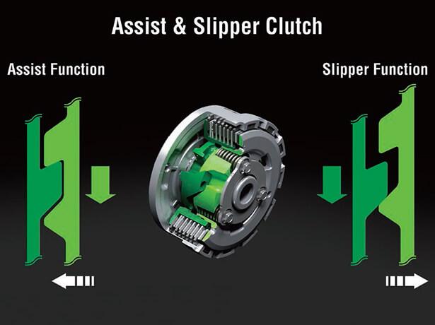 ระบบครัชแบบ Assist & Slipper Clutch