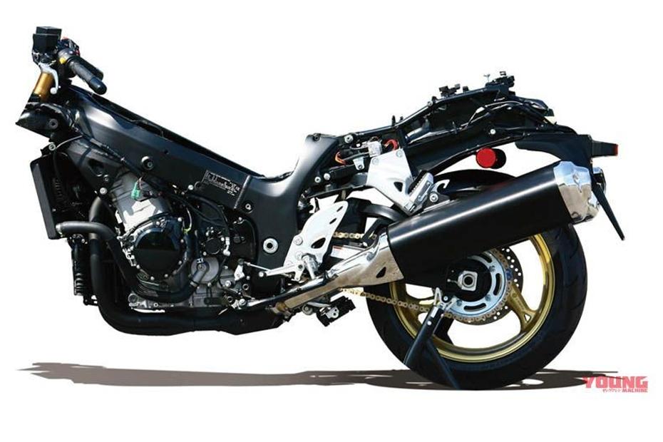 ภาพโครง All-new Suzuki Hayabusa