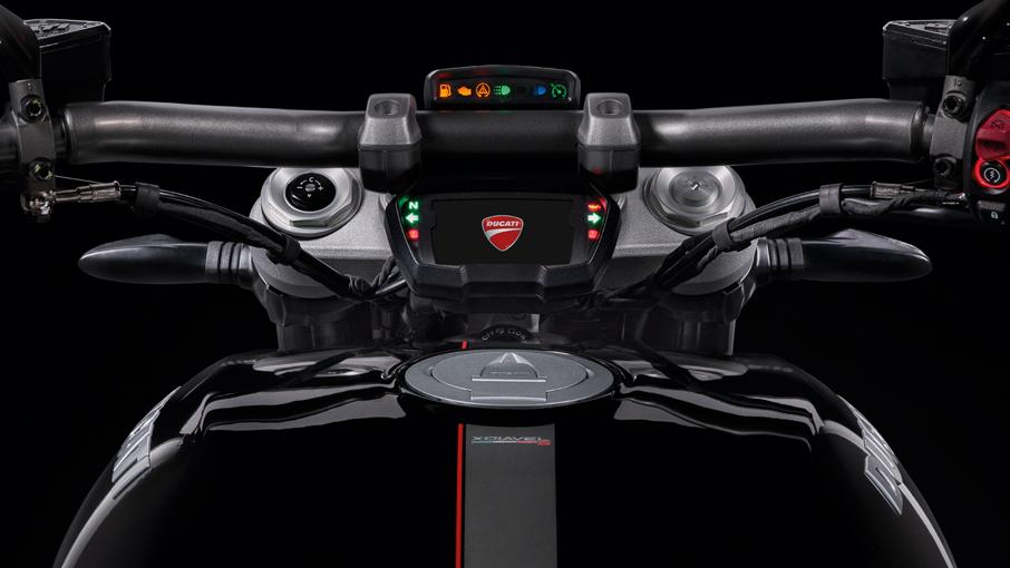 หน้าปัดเรือนไมล์ Ducati XDiavel
