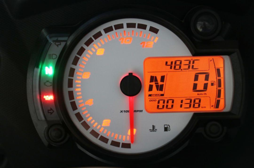 หน้าปัด อาพริเลีย GPR 150