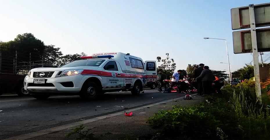 อุบัติเหตุที่อำเภอแม่ริม