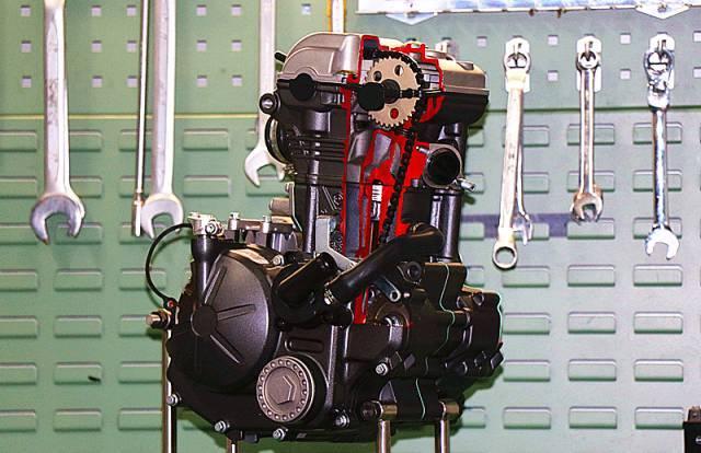 เครื่องยนต์ อาพริเลีย GPR 150