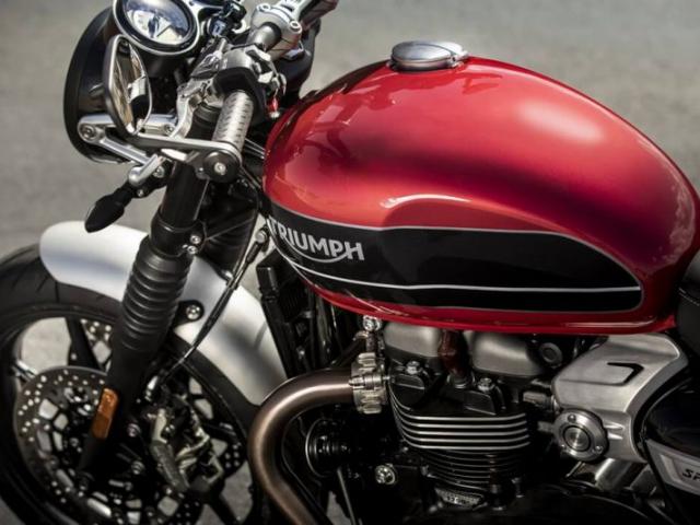 ถังน้ำมัน Triumph Speed Twin