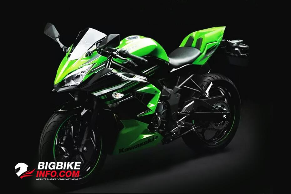 ภาพหลุด New Kawasaki Ninja 150