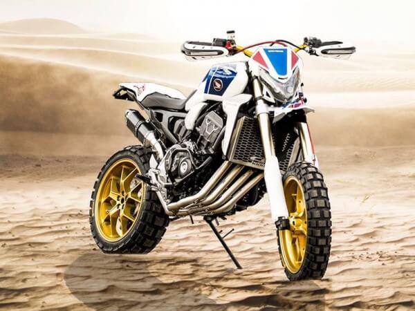 เผยโฉม Honda Africa Four CRF1000R รถสปอร์ตเอนดูโร่