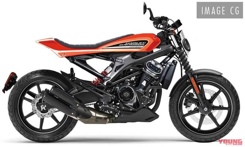 โมเดล Harley-Davidson 250cc