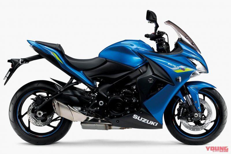 Suzuki รุ่น GSX-S1000F ปี 2019 สีใหม่ Triton Blue Metallic