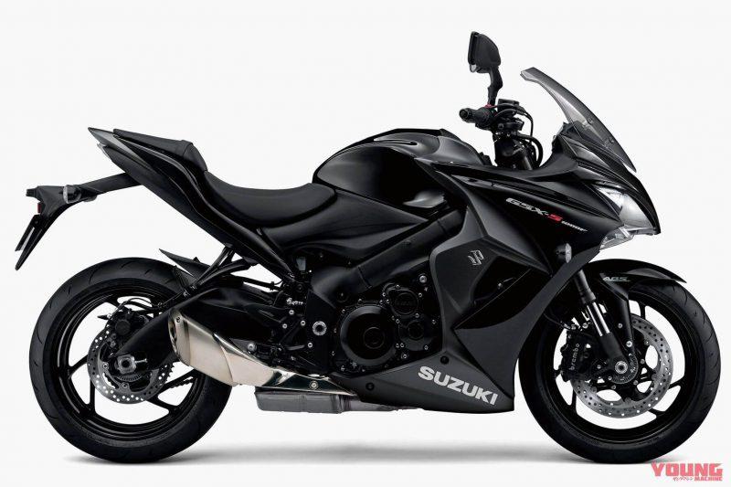 Suzuki รุ่น GSX-S1000F ปี 2019 สีใหม่ Grass Sparkle Black