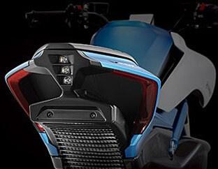 CFMoto V-Twin 1,000cc ท้ายรถ