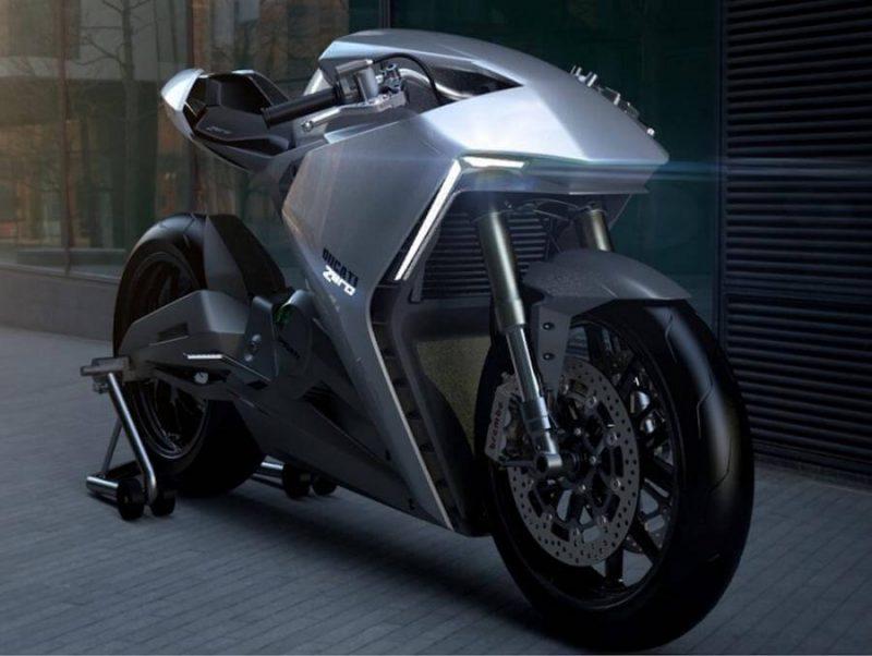 Ducati ประกาศเดินหน้าพัฒนา รถจักรยานยนต์ไฟฟ้า-ด้านหน้า