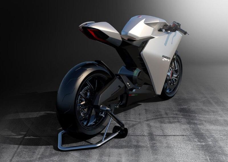 Ducati ประกาศเดินหน้าพัฒนา รถจักรยานยนต์ไฟฟ้า-ด้านหลัง