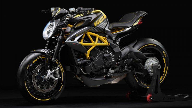 MV Agusta รุ่น Dragster 800RR Pirelli สีดำเหลือง