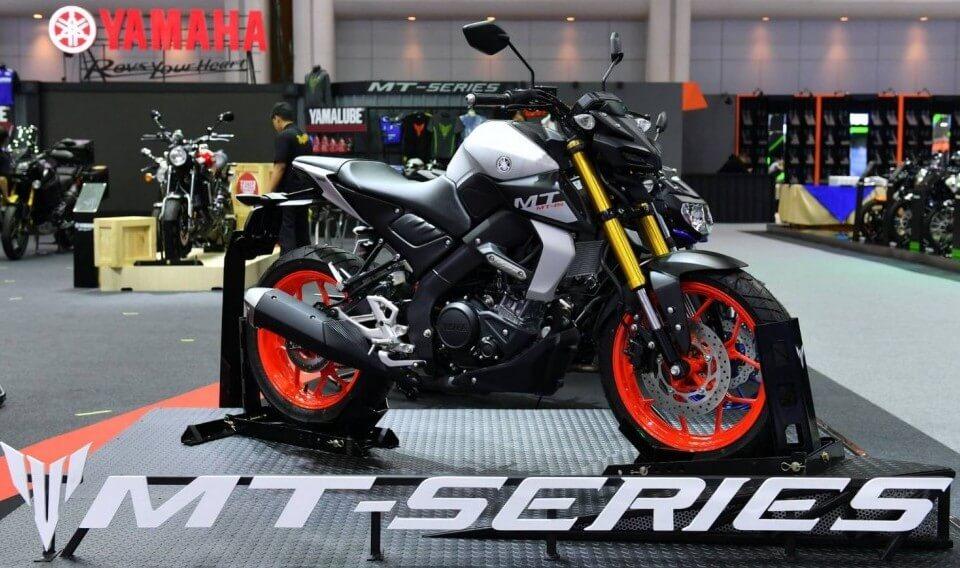 New Yamaha MT-03 ด้านข้าง