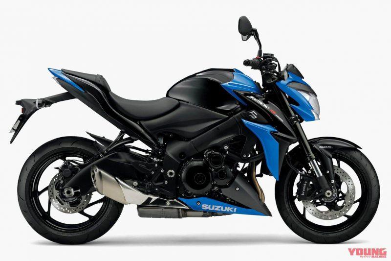 Suzuki รุ่น GSX-S1000 ปี 2019 สี Grass Sparkle Black X Triton Blue Metallic