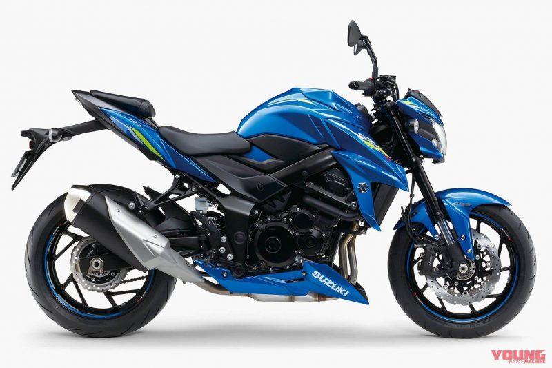 Suzuki รุ่น GSX-S750 สี Titan Blue Metallic