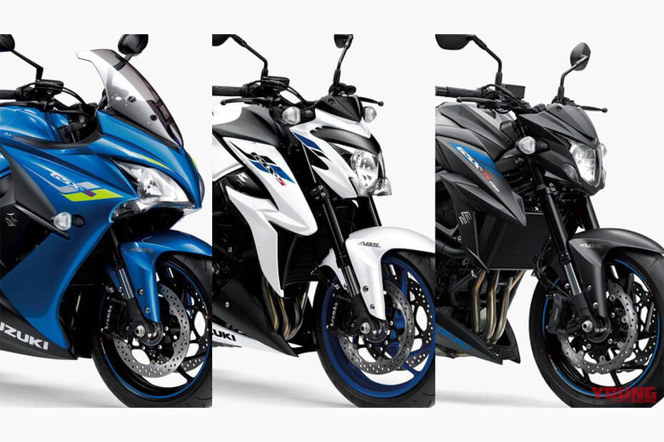 Suzuki อัพเกรดโมเดลใหม่ 3 รุ่น GSX-S1000F GSX-S1000 และ GSX-S750