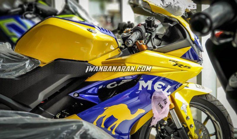 Yamaha YZF-R15 ปี 2019 ด้านข้าง
