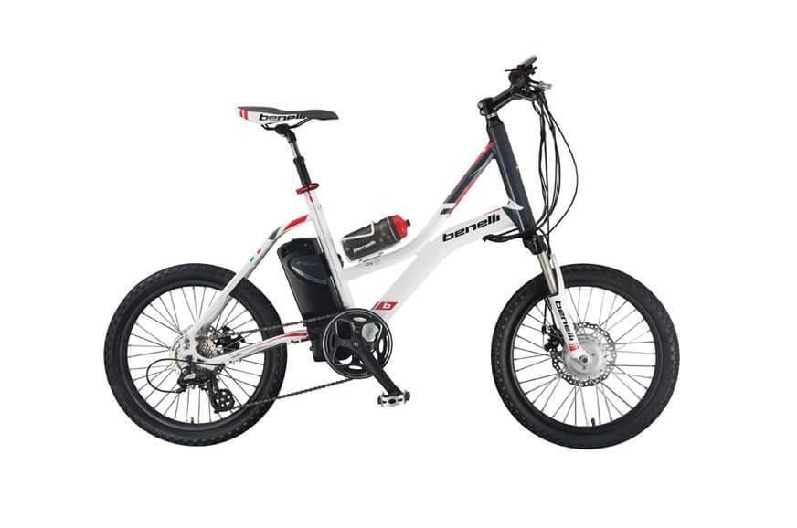 จักรยานต้นแบบที่ได้มีการปรับแต่งใน Benelli สกูตเตอร์