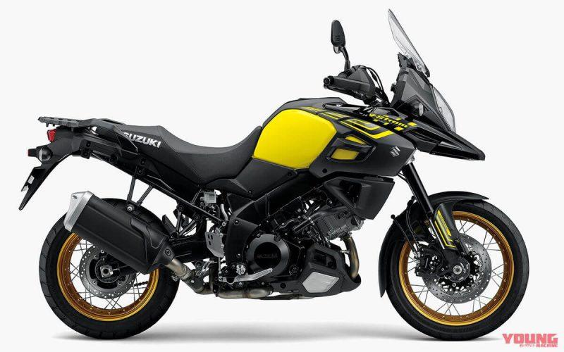 ซูซูกิ วี สตรอม 1000 ABS 2019 สีแหลือง