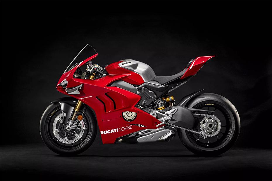 ด้านข้าง Ducati Panigale V4R