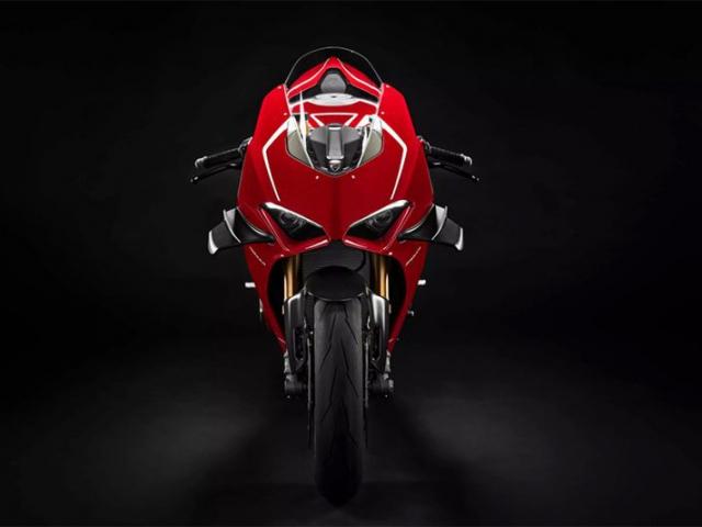 ด้านหน้า Ducati Panigale V4R