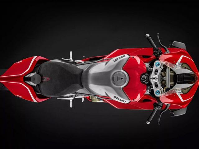 มุมบน Ducati Panigale V4R