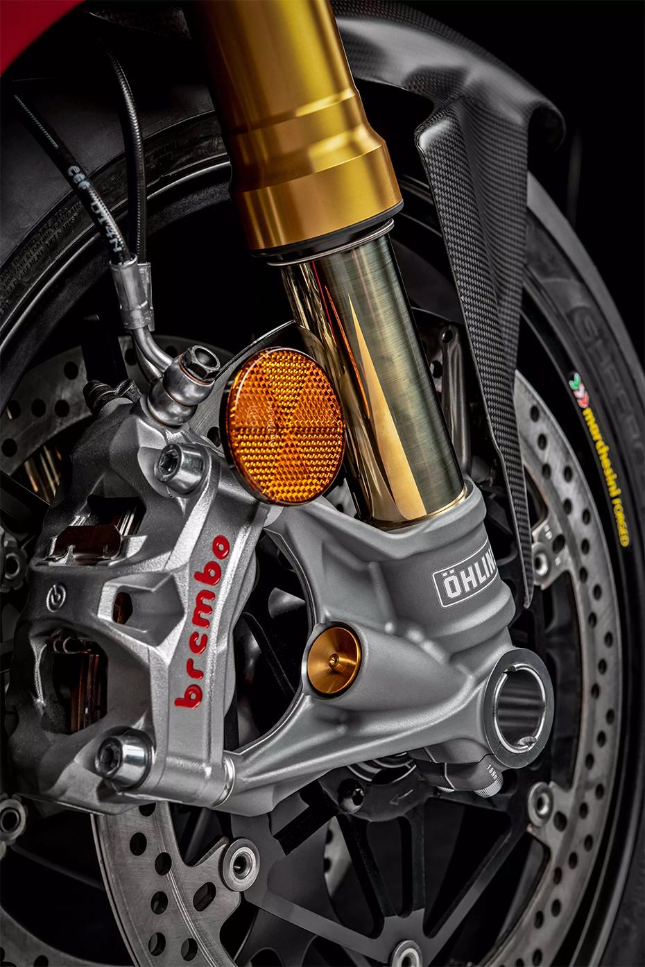 ระบบกันสะเทือนหน้า Ducati Panigale V4R