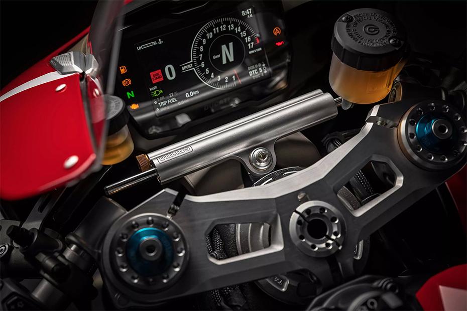หน้าปัดเรือนไมล์ Ducati Panigale V4R