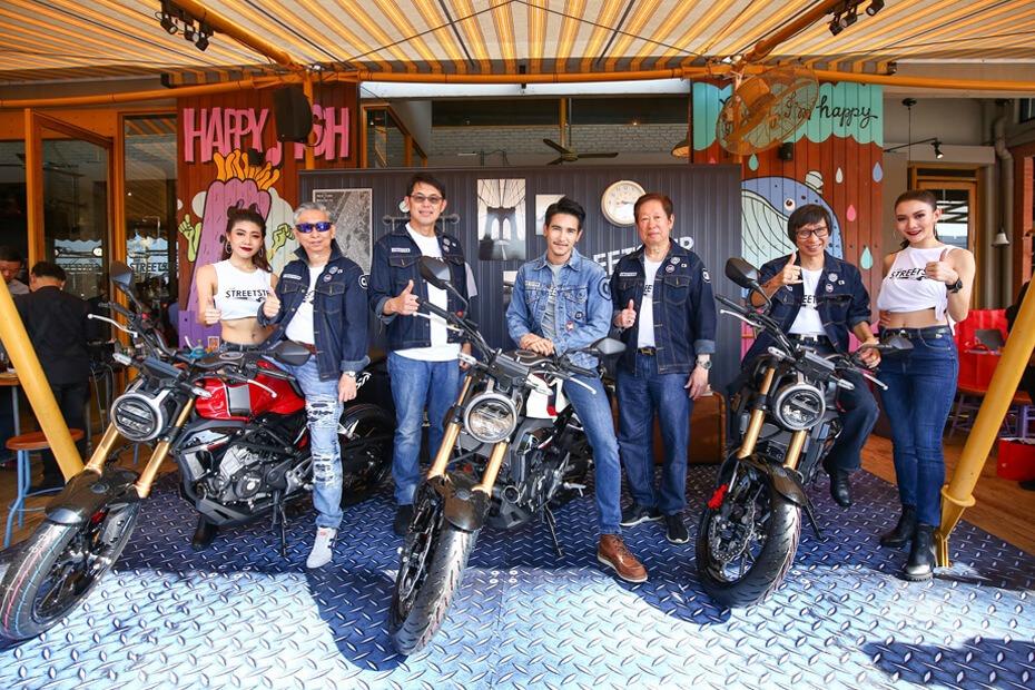 เปิดตัว Honda CB150R