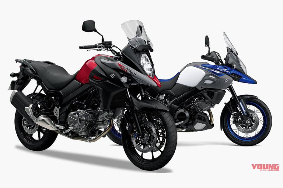 โมเดลสีใหม่ Suzuki V Strom 650-1000 ในปี 2019 พร้อมการพัฒนาฟีเจอร์ที่น่าสนใจ