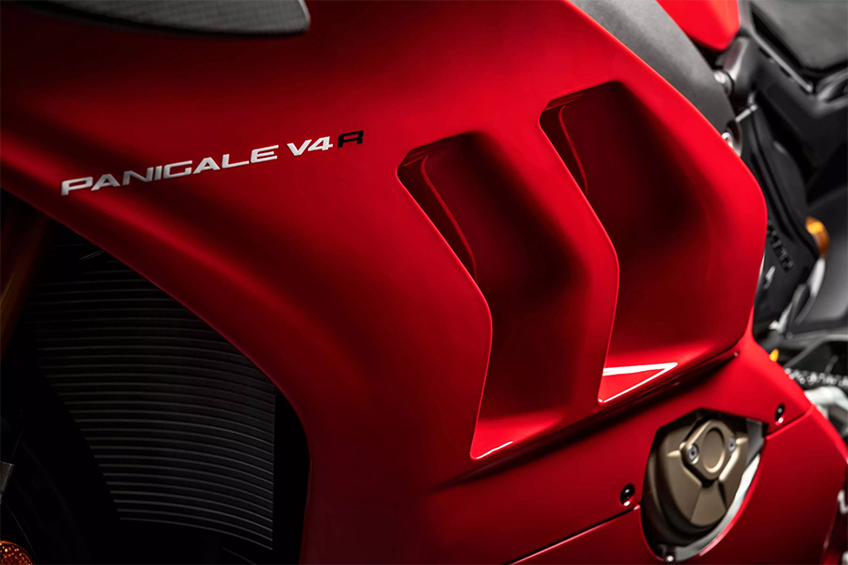 Aerodynamics Ducati Panigale V4R