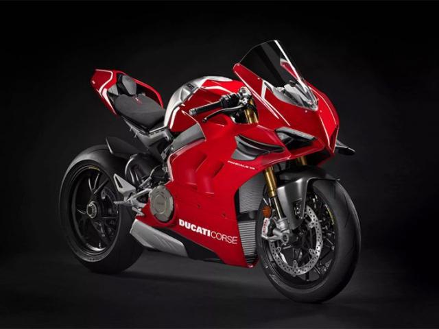 Ducati Panigale V4R ด้านข้าง