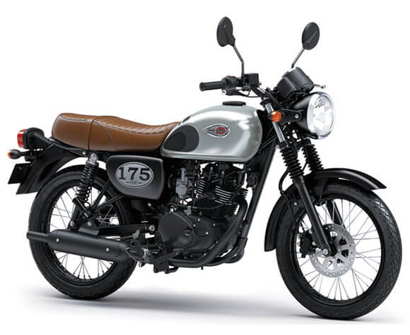 Kawasaki-W175-SE-Silver