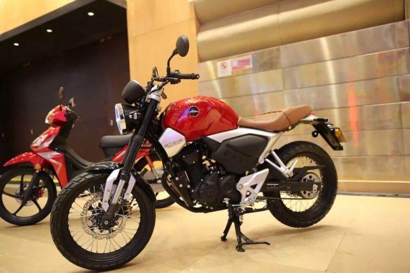 New Honda CB190SS ปี 2019 ด้านข้าง
