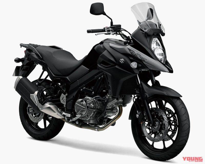 Suzuki V Strom 650 ABS สีดำเงา