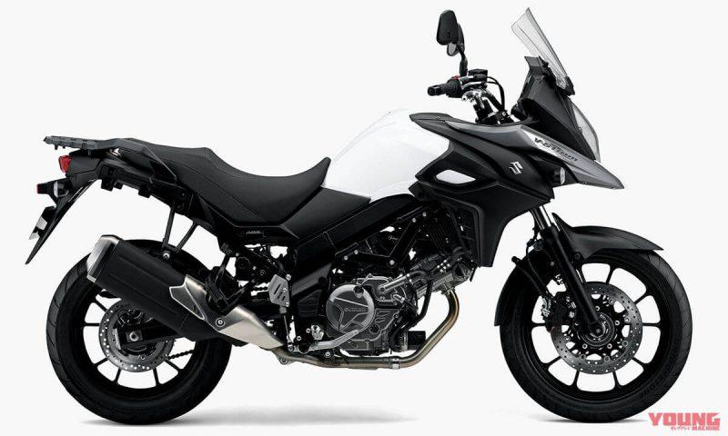 Suzuki V Strom 650 ABS 2019 สี Pearl Gresher White