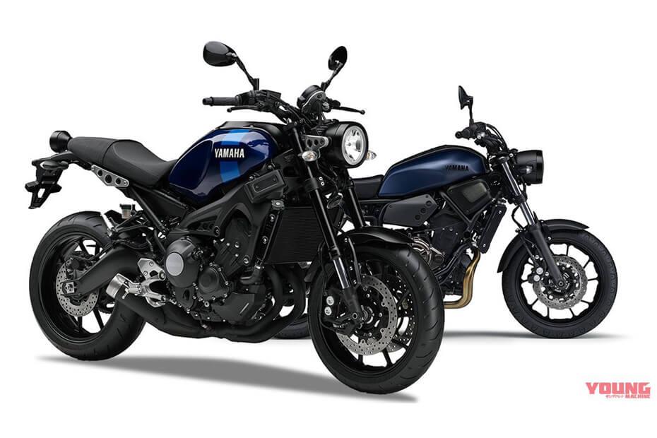 Yamaha เปิดตัวสีใหม่ รุ่น XSR900 และรุ่น XSR700 ในปี 2019